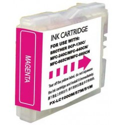 BROTHER LC1000XL/LC970XL MAGENTA CARTUCHO DE TINTA...