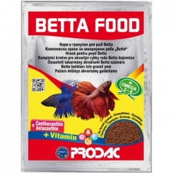 Prodac Betta Food Granulo Para Bettas 12 gramos